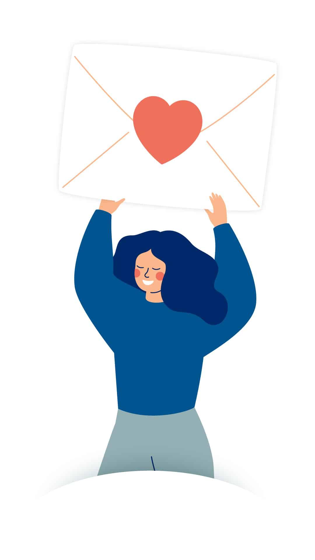 Mail schreiben Psychotherapie und Coaching Pinneberg - Stephanie Schullmann Redlich